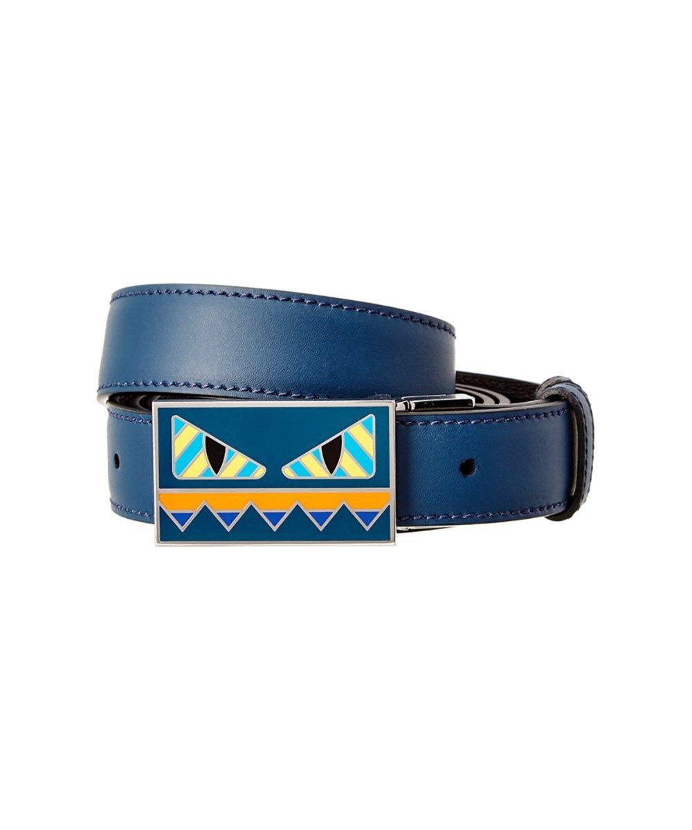 6b14cef27a FENDI Fendi Bag Bugs Reversible Leather Belt .  fendi  belts