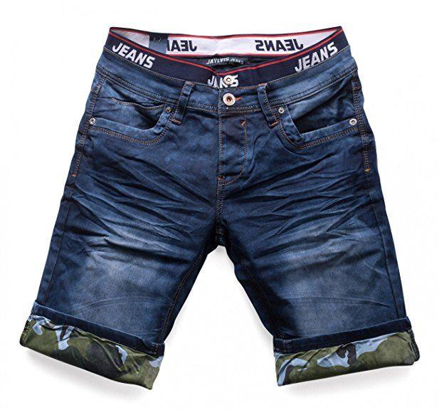 Hombres Pantalones Cortos Extienden Virginia Nr 1513 Farben Blue Grosse Shorts W28 Pantalones Cortos De Mezclilla Pantalones Cortos Pantalones