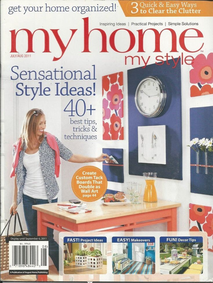 My home style magazine project ideas easy makeovers decor tips wall art homedecortips online also rh pinterest