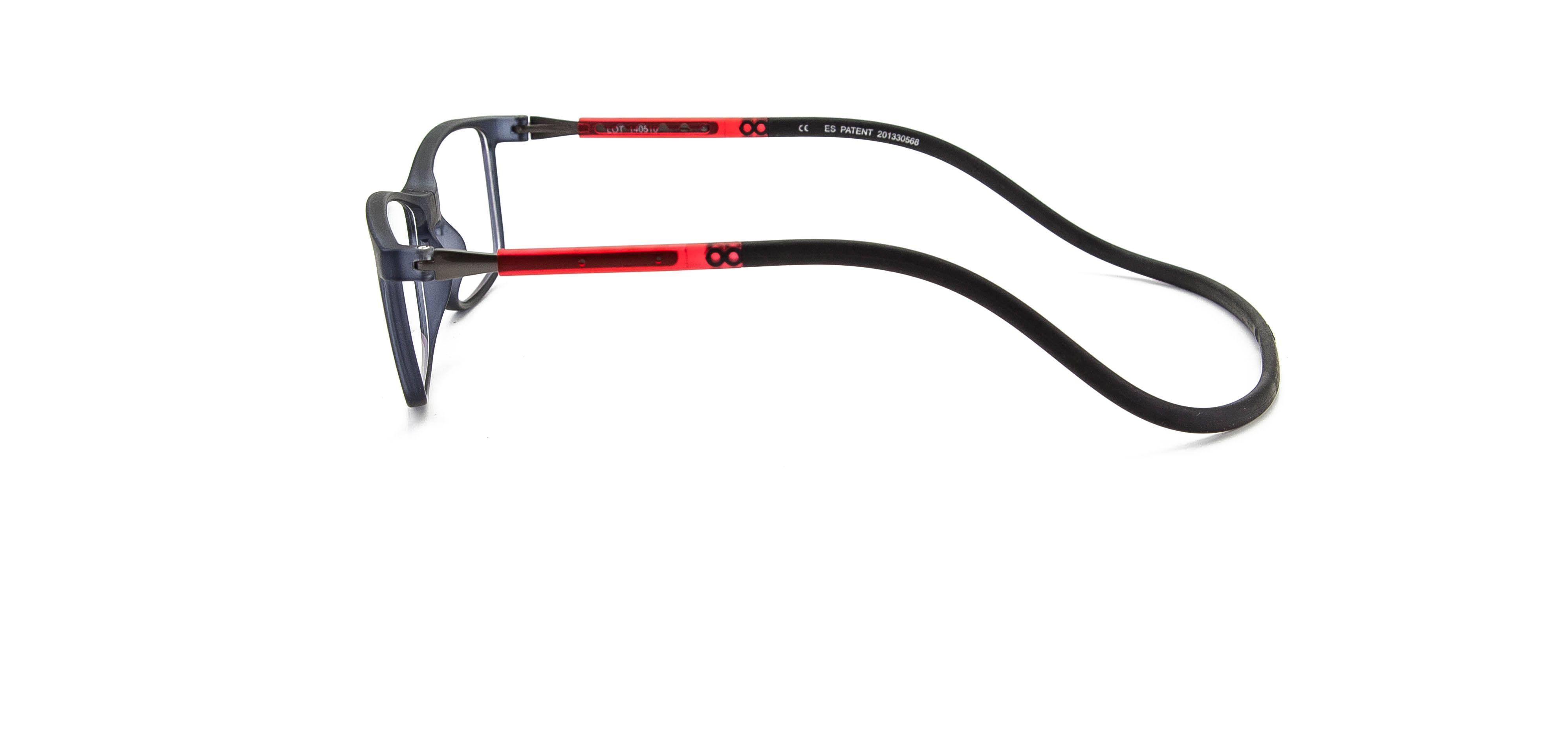 Montura para gafas graduadas, con conexión frontal magnética y varilla única ajustable-flexible-elastomérica. Lentes BLUE LIGHT. #slastik #barcelona #beceene #bereader; #eyewearbarcelona #gafalectura #graduado #magnetic #plegable #presbicia #antibluelight