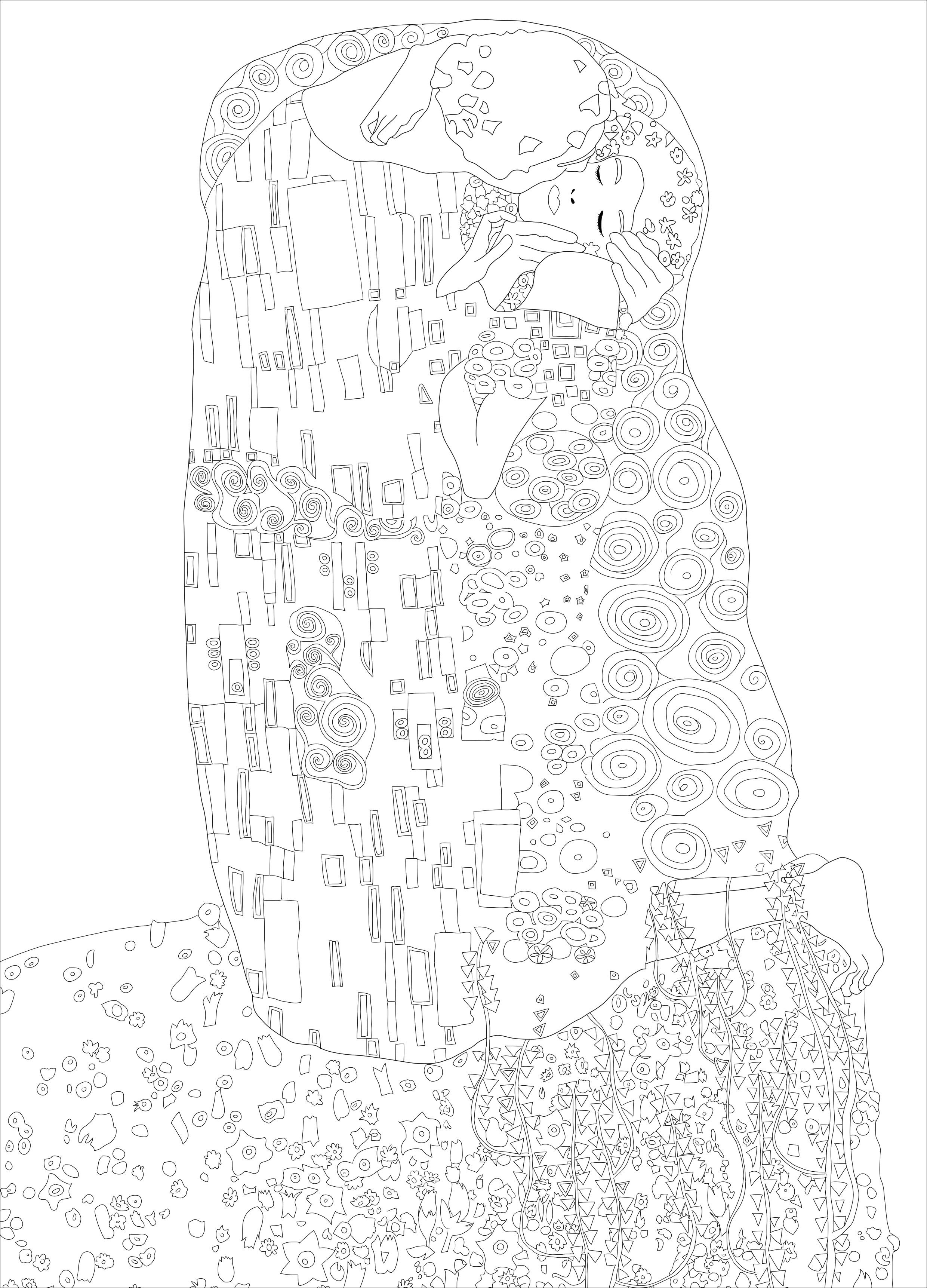 Colorear para adultos : Arte - 75 - Esta imagen contiene : Artist ...
