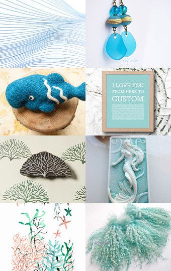 Ocean by Kate on Etsy--Pinned with TreasuryPin.com