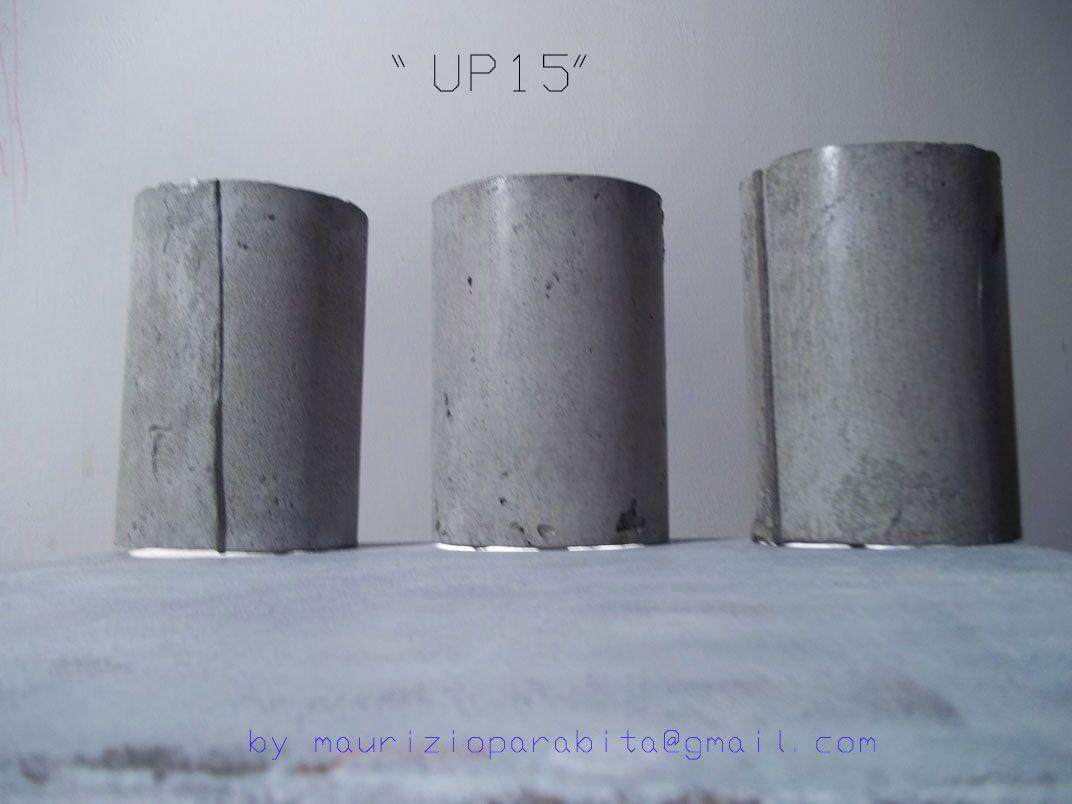 Tavolo cemento ~ Lampada da tavolo in cemento nero handmade lampada