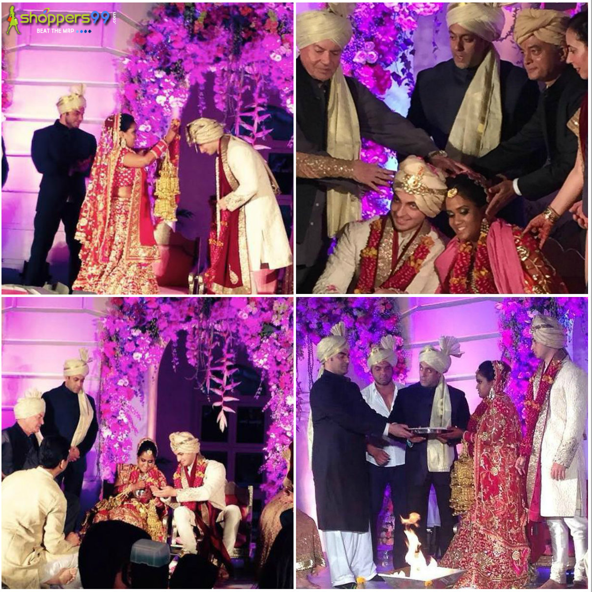 wish you happy married life of arpita and ayushsharma may you have a wonderful life