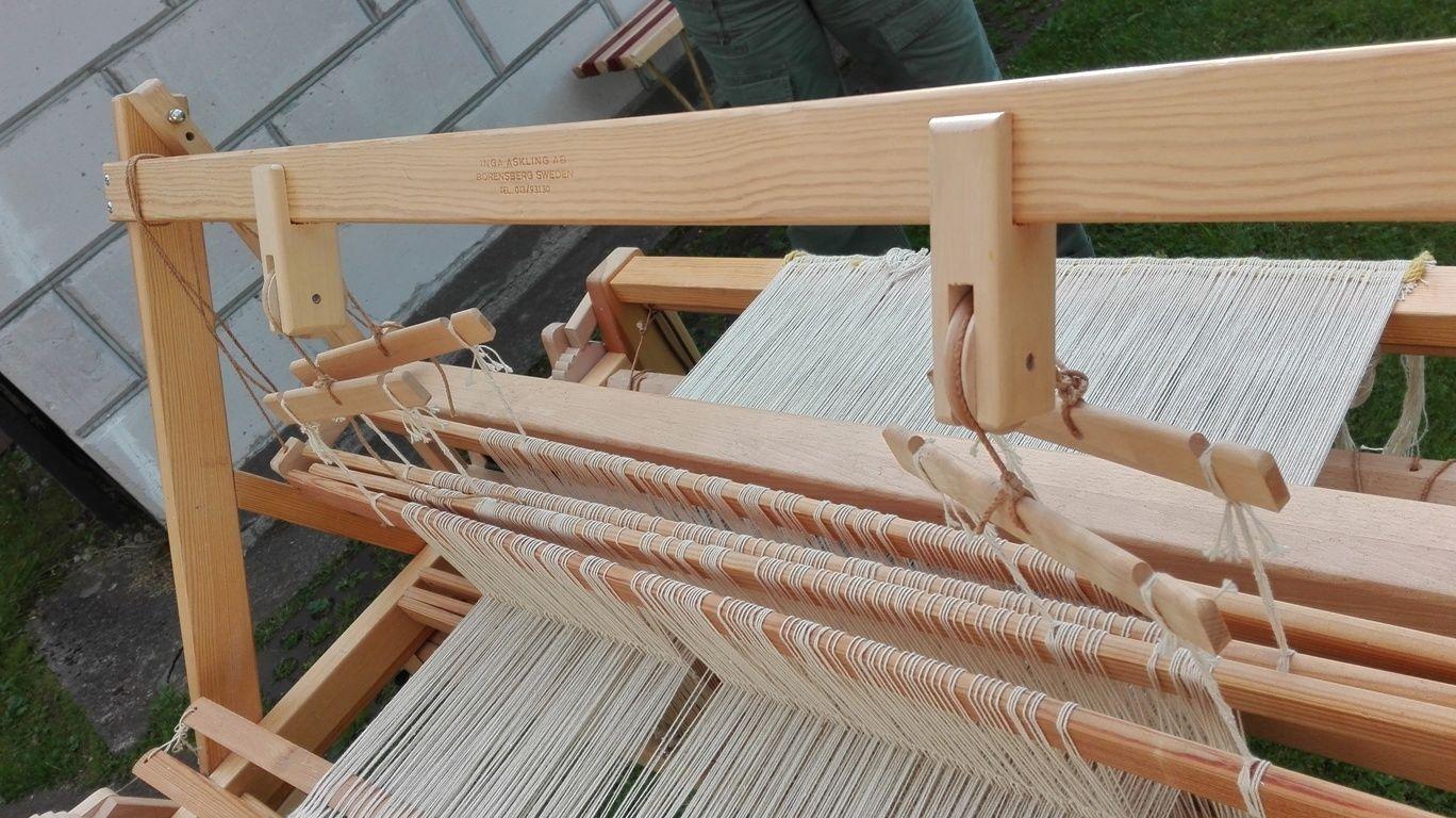 Details about Vintage Large Sweden floor Warping Mill