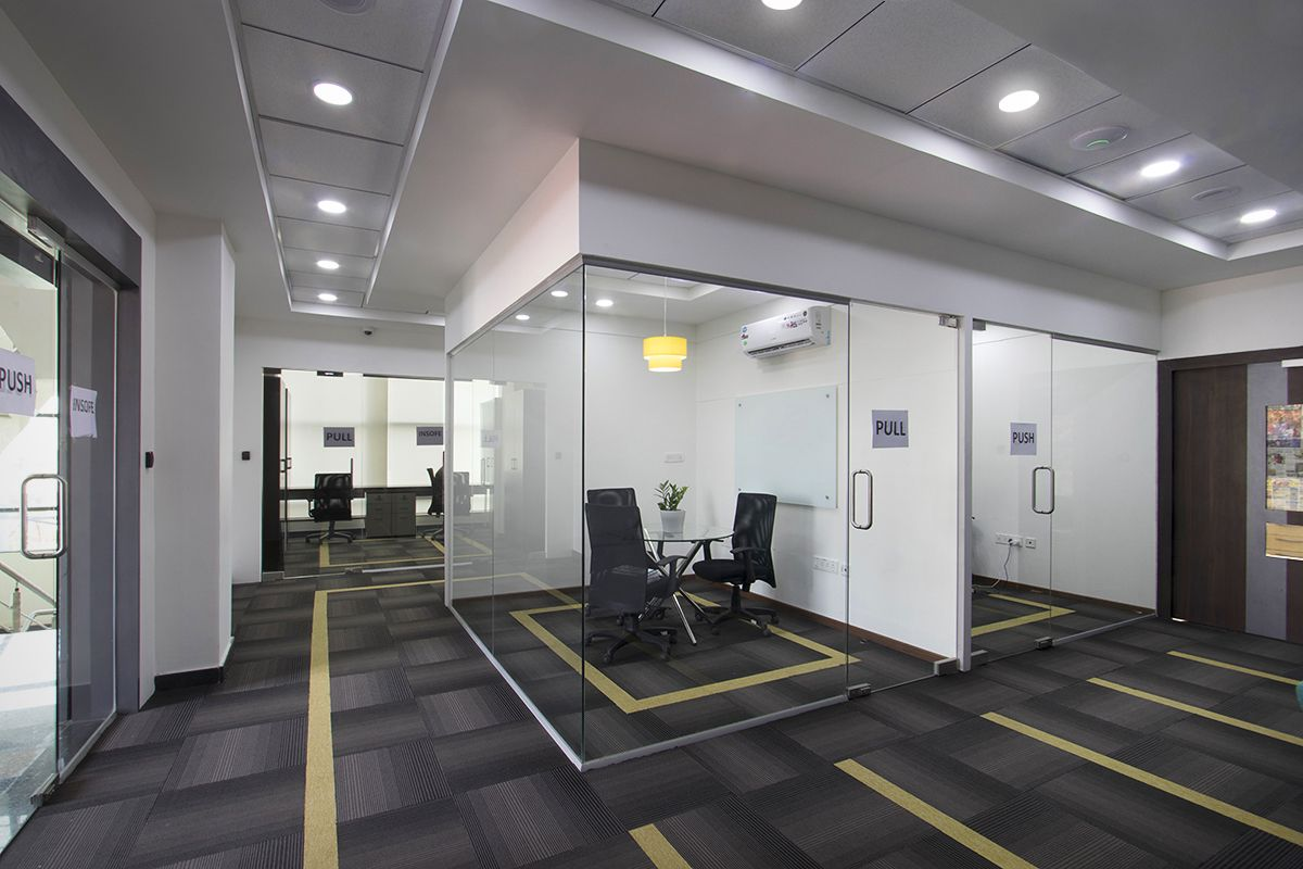 Modern Office Cabin Interior Design For Organized Work Environment