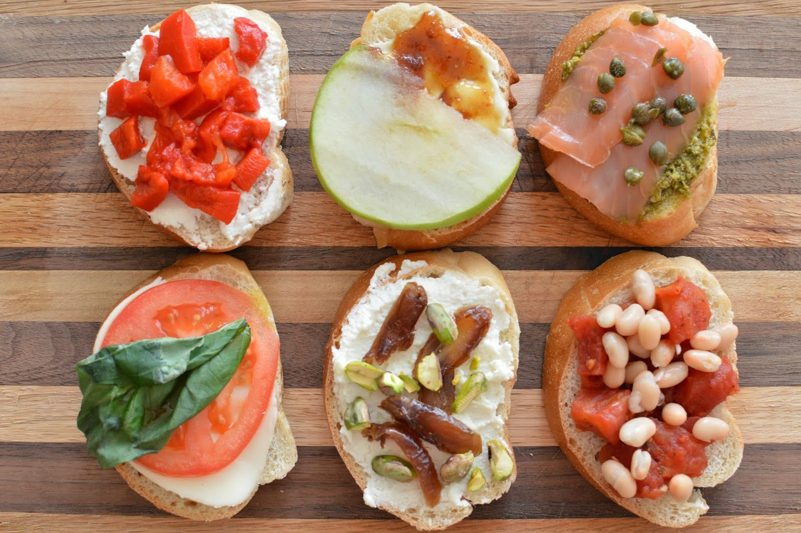 A Spoonful of Lovely: Bruschetta Board a tribute to the awesome bruschetta served at Postino's in Phoenix. Make at home recipes for people that can't go to Postino's.