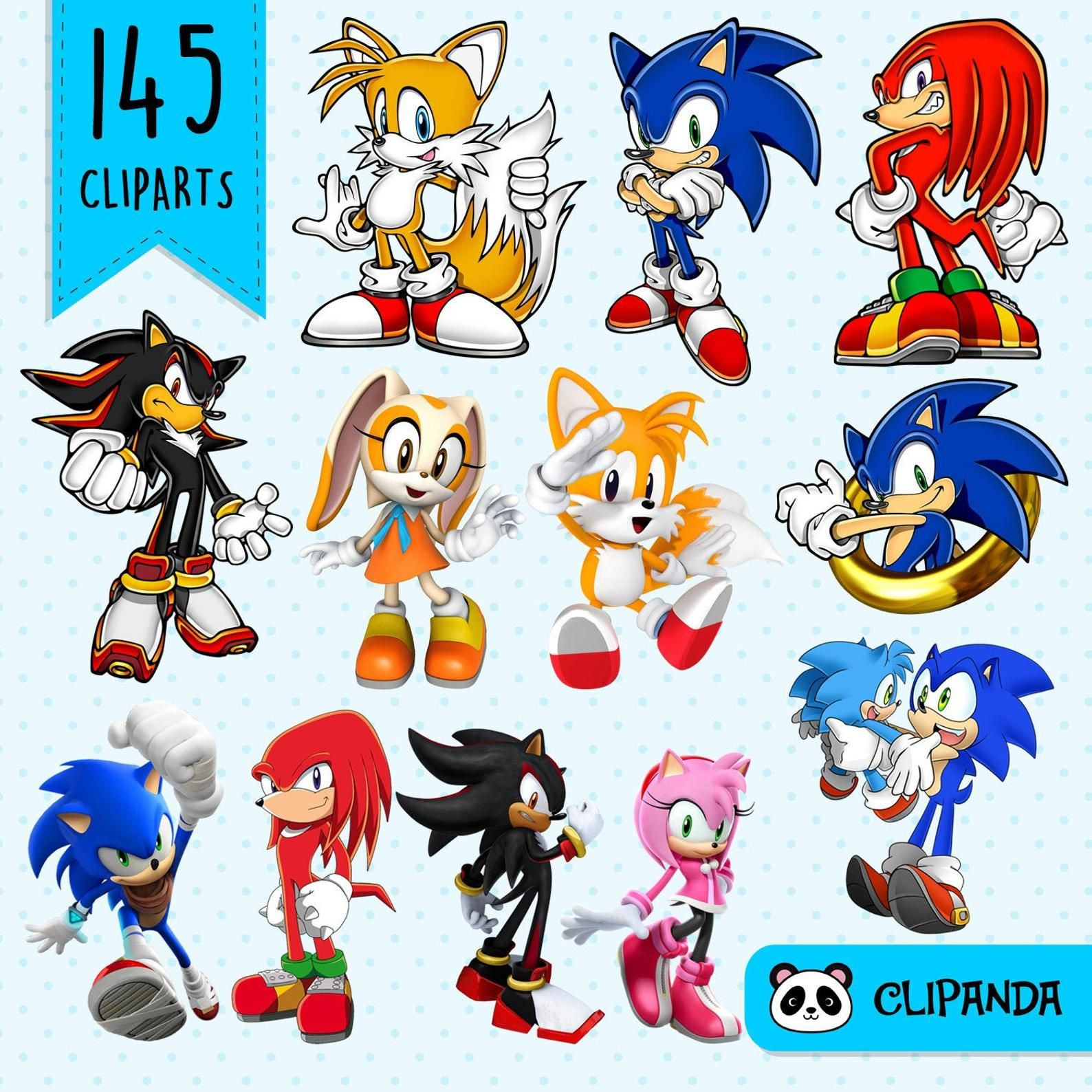 Sonic The Hedgehog Clipart Png Transparent Background Etsy In 2020 Sonic Birthday Parties Sonic Birthday Sonic The Hedgehog