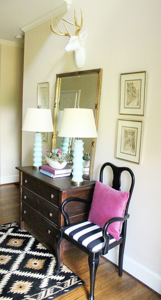 Updated entryway and bringing spring in queen anne also decorating ideas blog rh pinterest