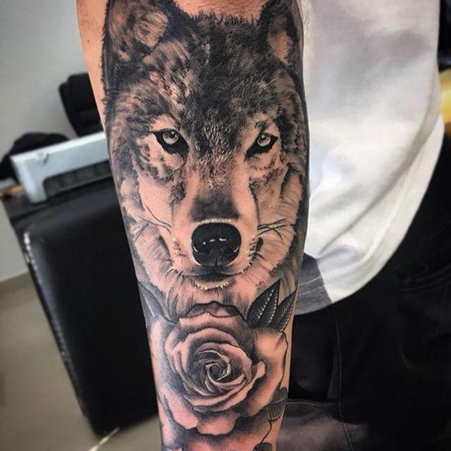Top 150 Wolf Tattoos So Far This Year: Lobo Do Brother @viniciousss Valeu Por Essa Oportunidade