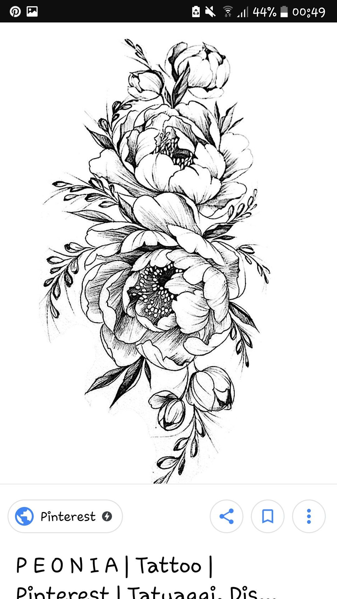 Like The Buds Of Peonies Flower Tattoo Designs Sunflower Tattoo Shoulder Sleeve Tattoos