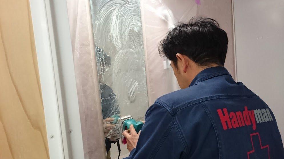 浴室の鏡ウロコ落とし 会員様なら3 000円でピカピカになります