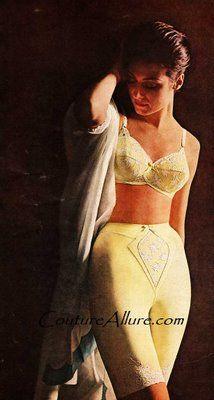 615b998888f I remember Mama wearing a girdle Yellow Bra