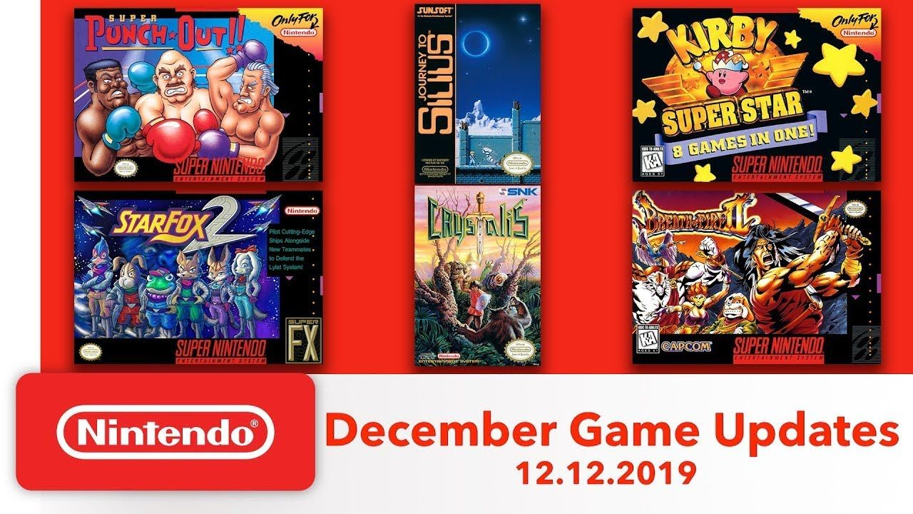 VIDEO REACCION NES & Super NES December Game Updates