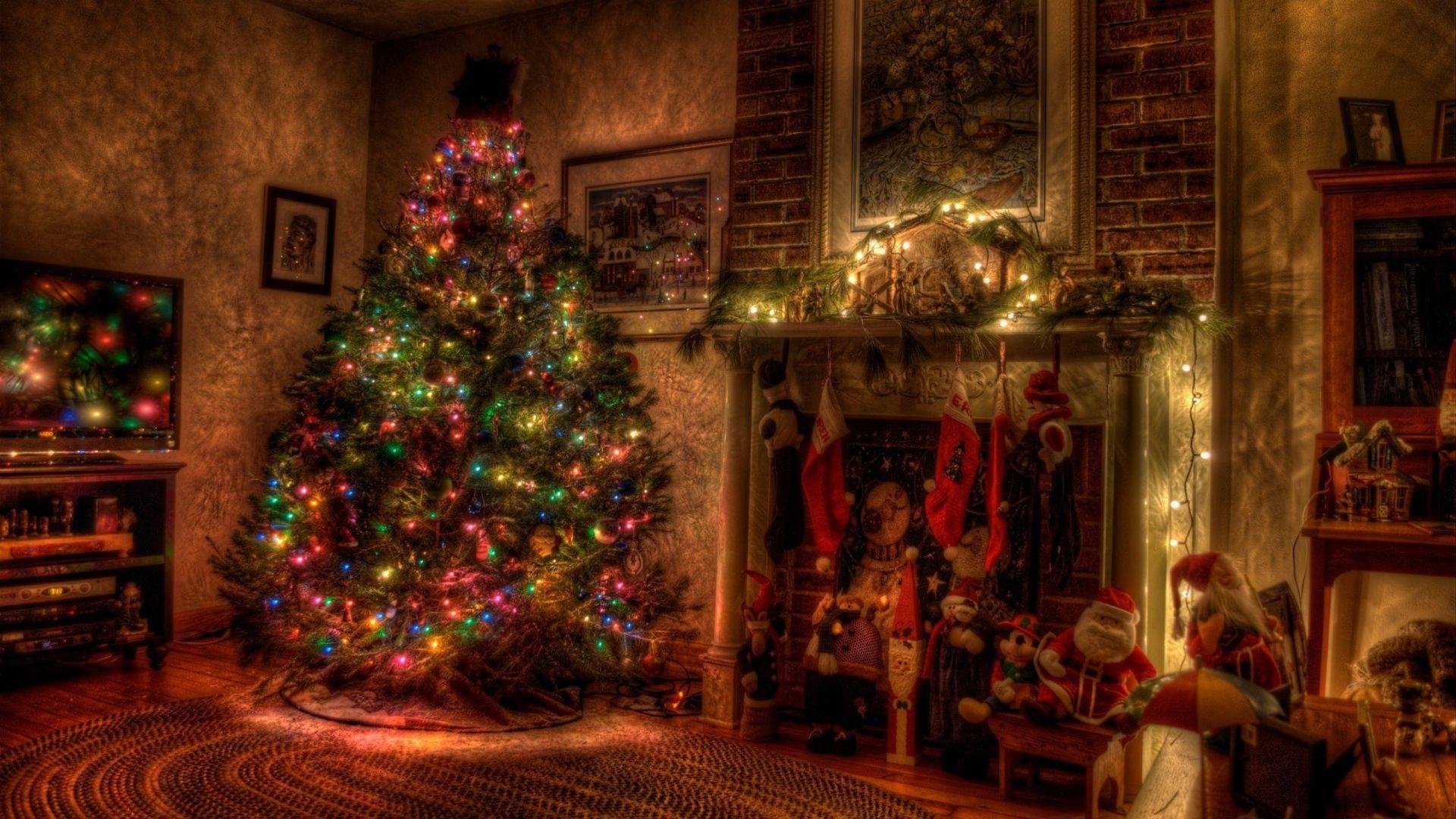 Full Hd 1080p Holidays Wallpapers Desktop Backgrounds Hd Christmas Wallpaper Backgrounds Christmas Fireplace Christmas Wallpaper Hd