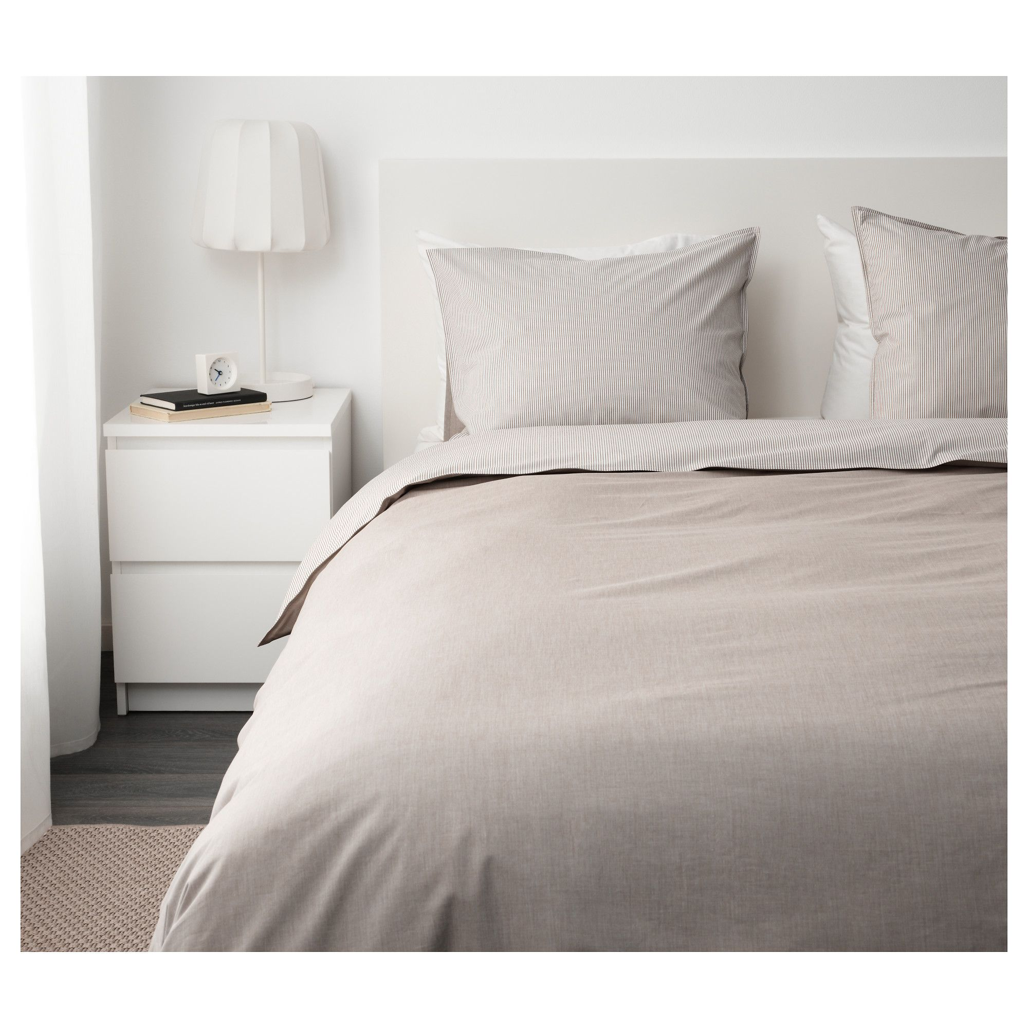 Ikea BlÅvinda Duvet Cover And Pillowcase S Beige