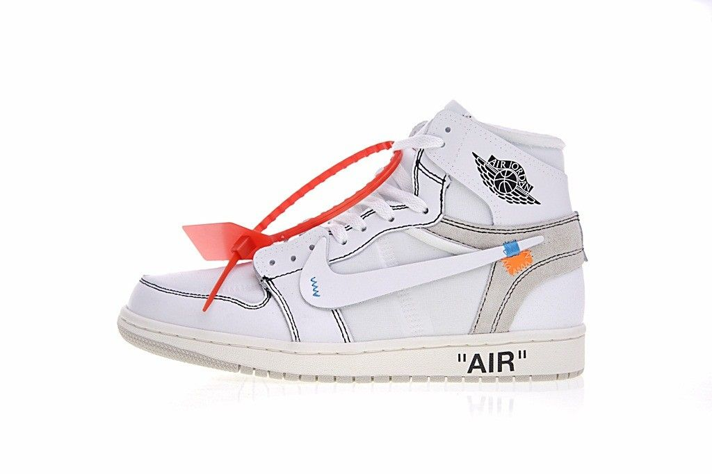 OFF white x Nike Air Jordan 1 Classice Basketball Shoes