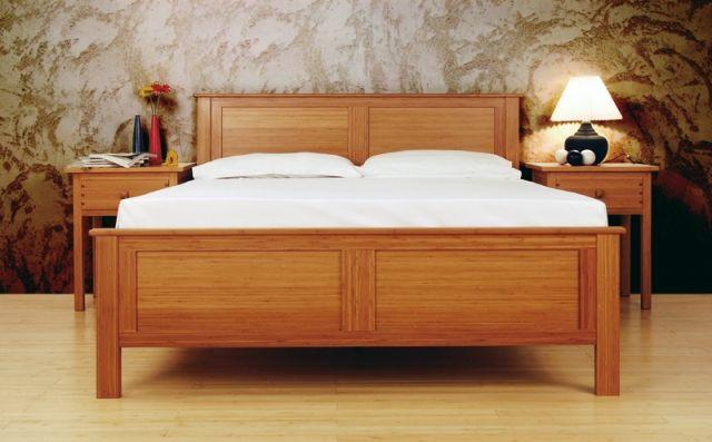 Greenington Furniture Hosta Queen Bed Green Goods Products
