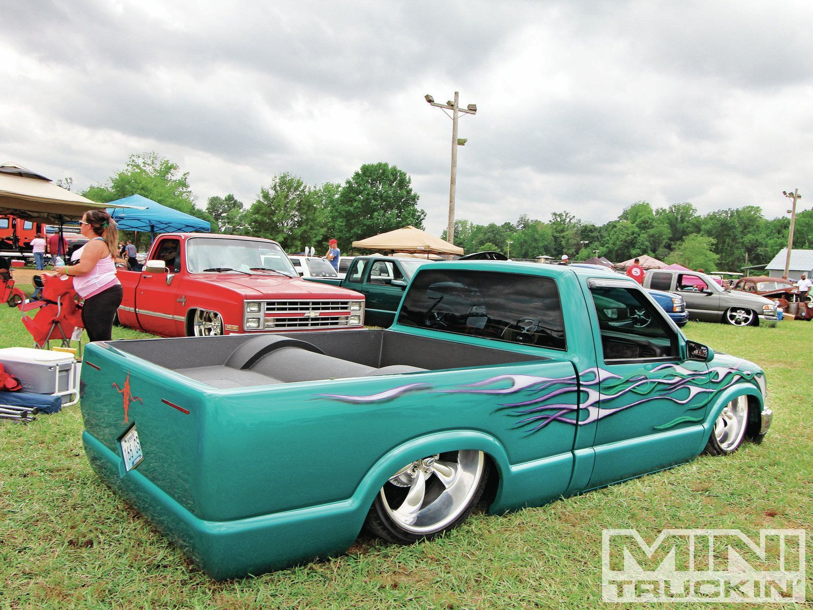 Relaxed atmosphere s all star event mini truckin magazine