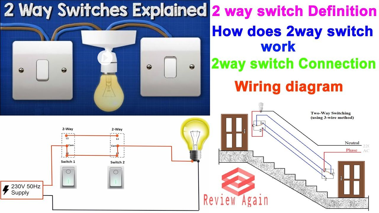 2 way switching means having two or more switches in