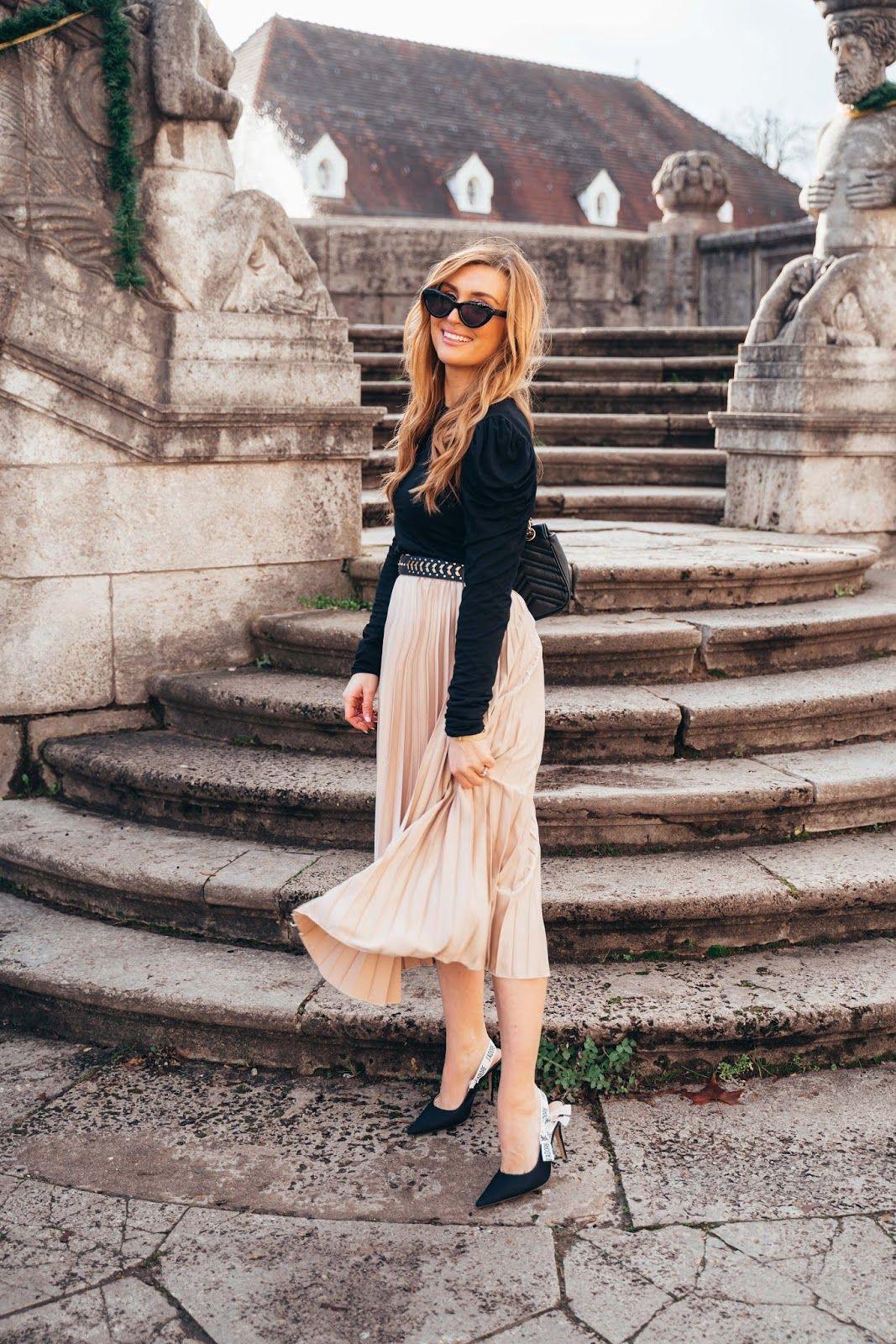 plissee röcke trends in 2020 | modestil, stil, plissee