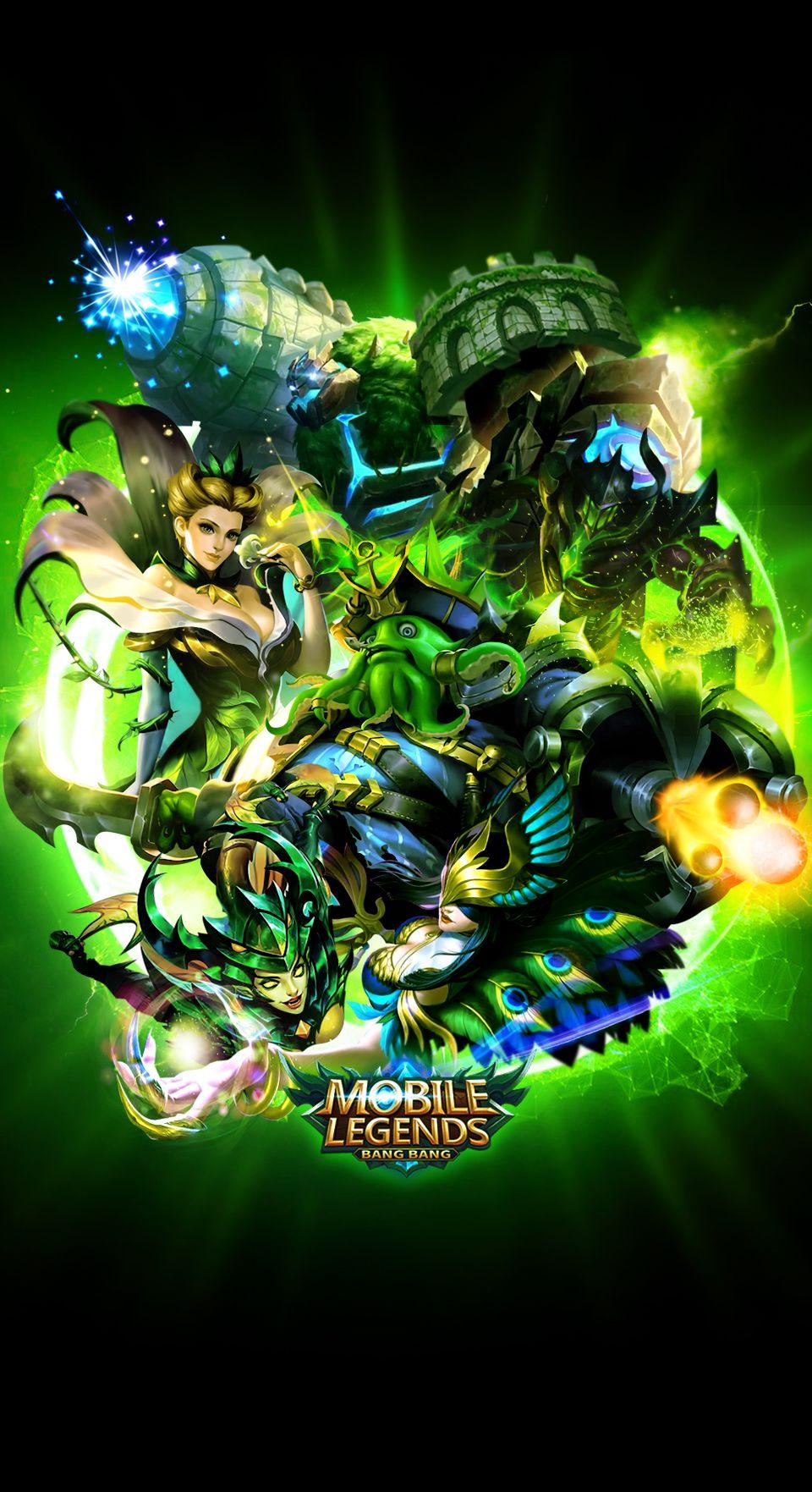 Team Green Mobile Legends Mobile Legends Wallpaper Pinterest
