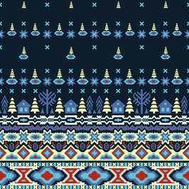 #SvetlanaKononovaPatternbank #svetlanakononovapatternbank #patternbank #textiledesign #seamlesspattern #autumn #winter #scandinavian #scandinavianpattern #folkart #nordicpatterns #nordicnights #scandy #textile #fabric