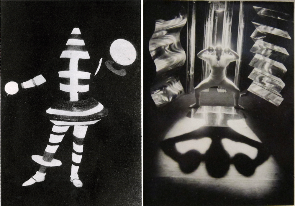 No one costume parties like the Bauhaus constume partied.