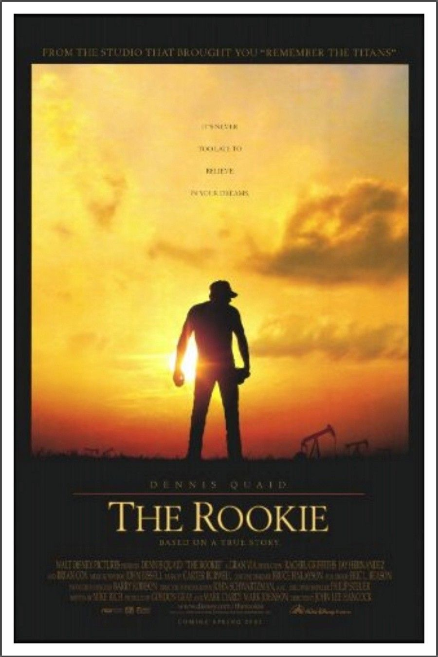 The Rookie (2002) The rookie movie, Full movies, Sports