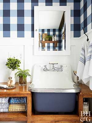 Stunning DIY Farmhouse Bath Makeover Decorating Pinterest
