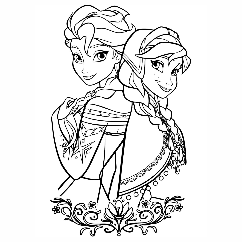 frozen-colorir-39.png (1535×1535) | Disney coloring | Pinterest