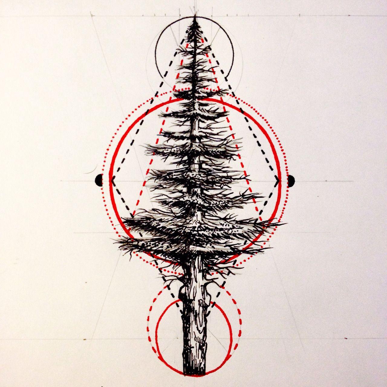 Minimalist Pine Tree: Minimalist Tree Tattoo - Google Search