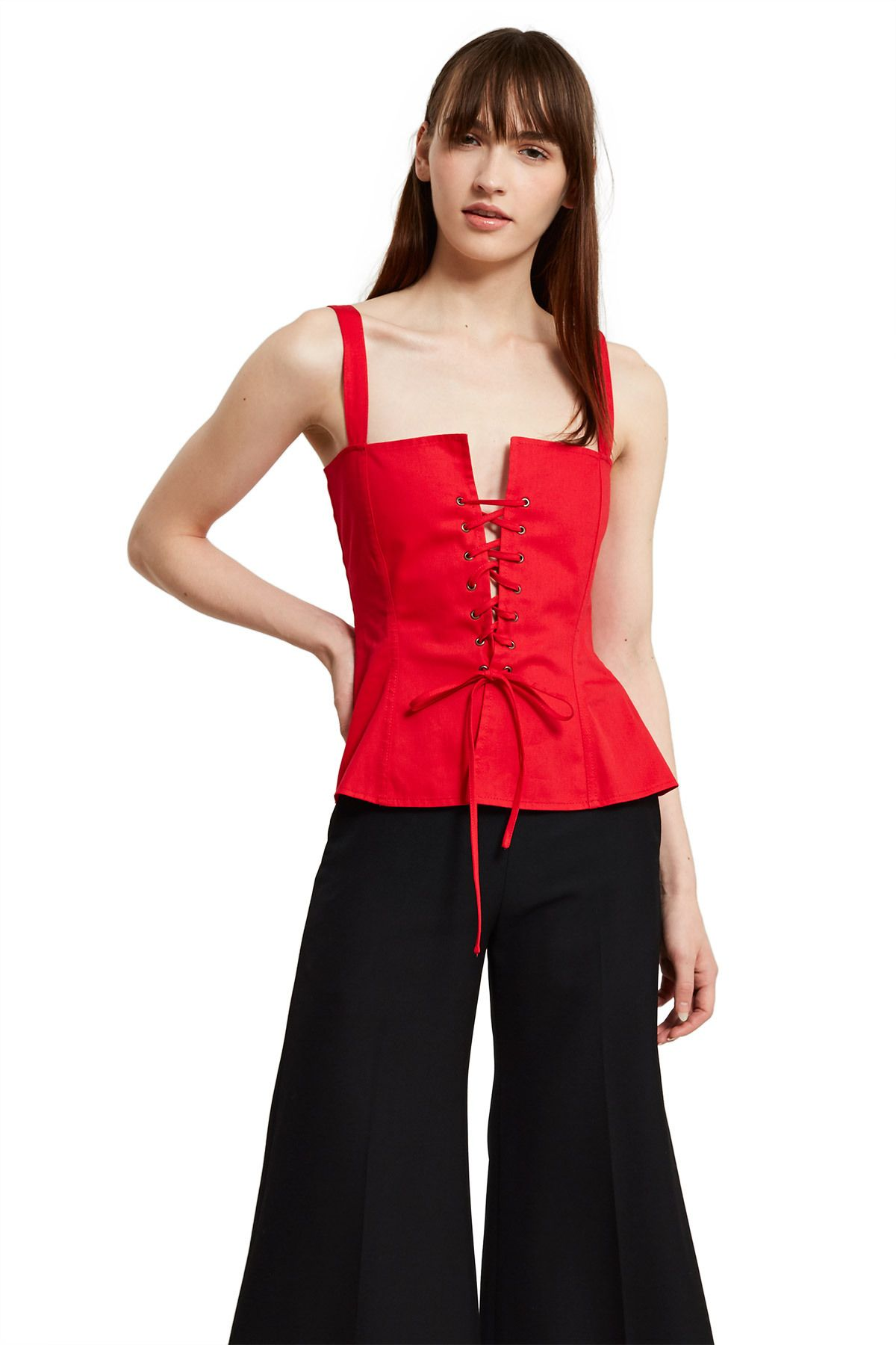 Callipygian corset top the perfect layering piece for