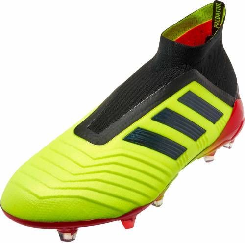 release date: d2aee d6860 adidas Predator 18+ FG - Solar YellowBlackSolar Red - SoccerPro
