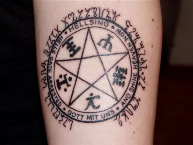 Hellsing Tattoos Pinterest Tattoo