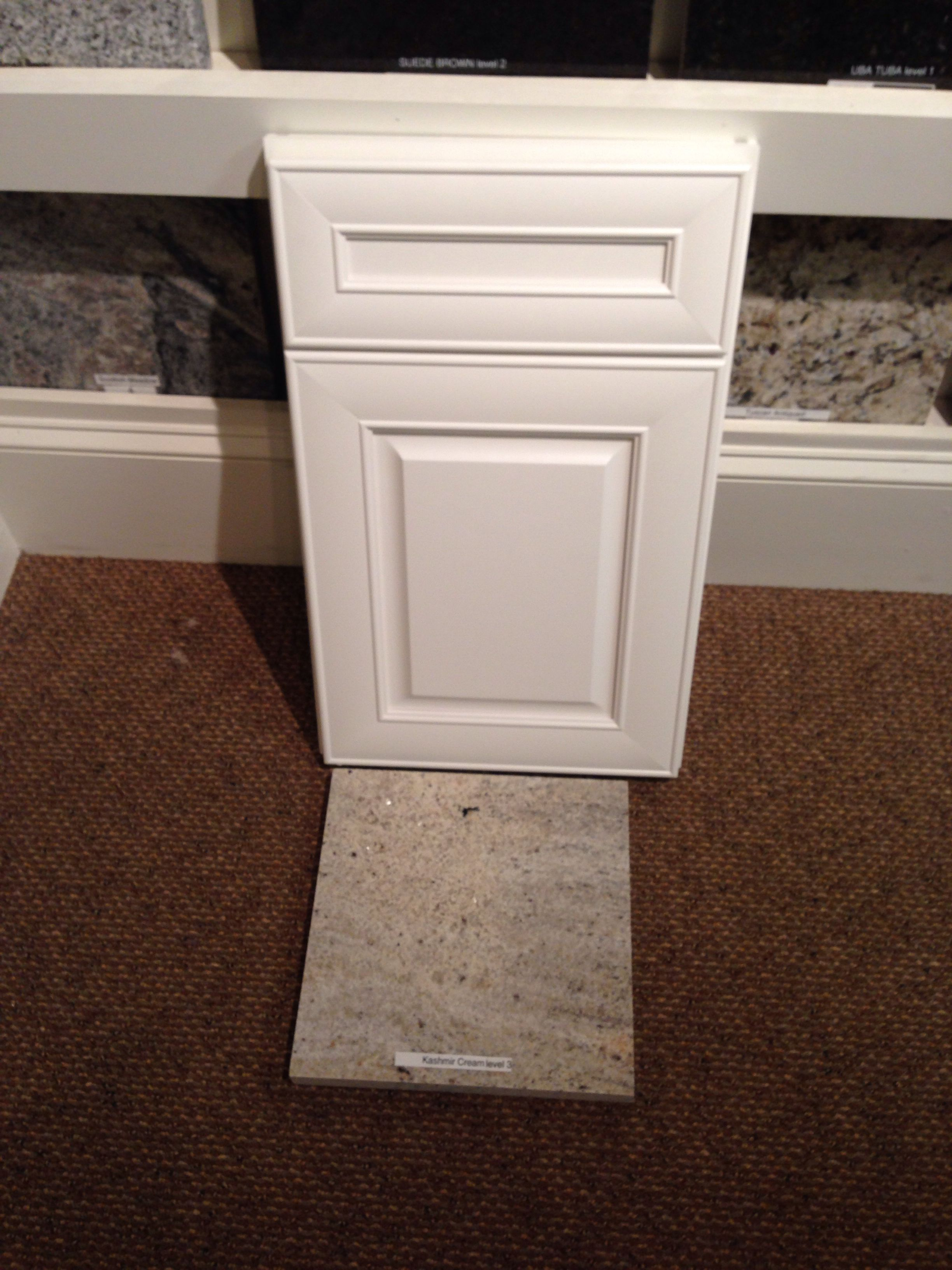 Cabinets with granite