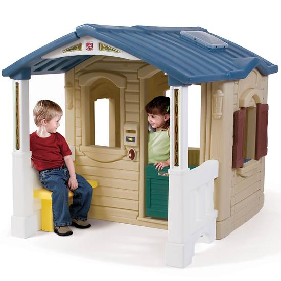 Naturally Playful Front Porch Playhouse Play Houses Build A