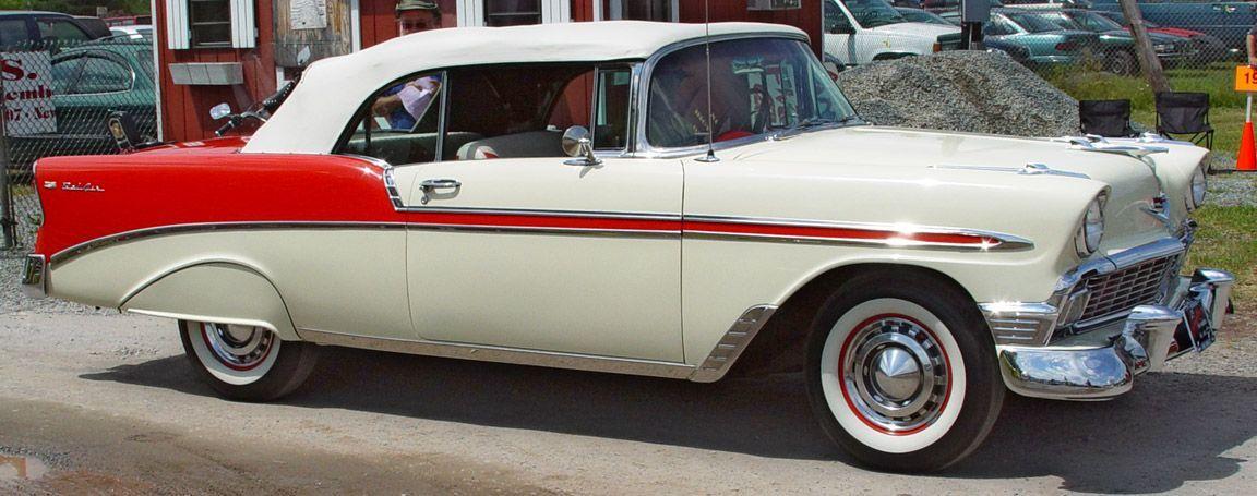 1956 Chevrolet Bel Air Very Unusual Color Combination Interesting