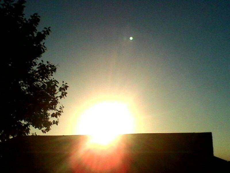 Sun going down 10/19/2015 Paragould AR