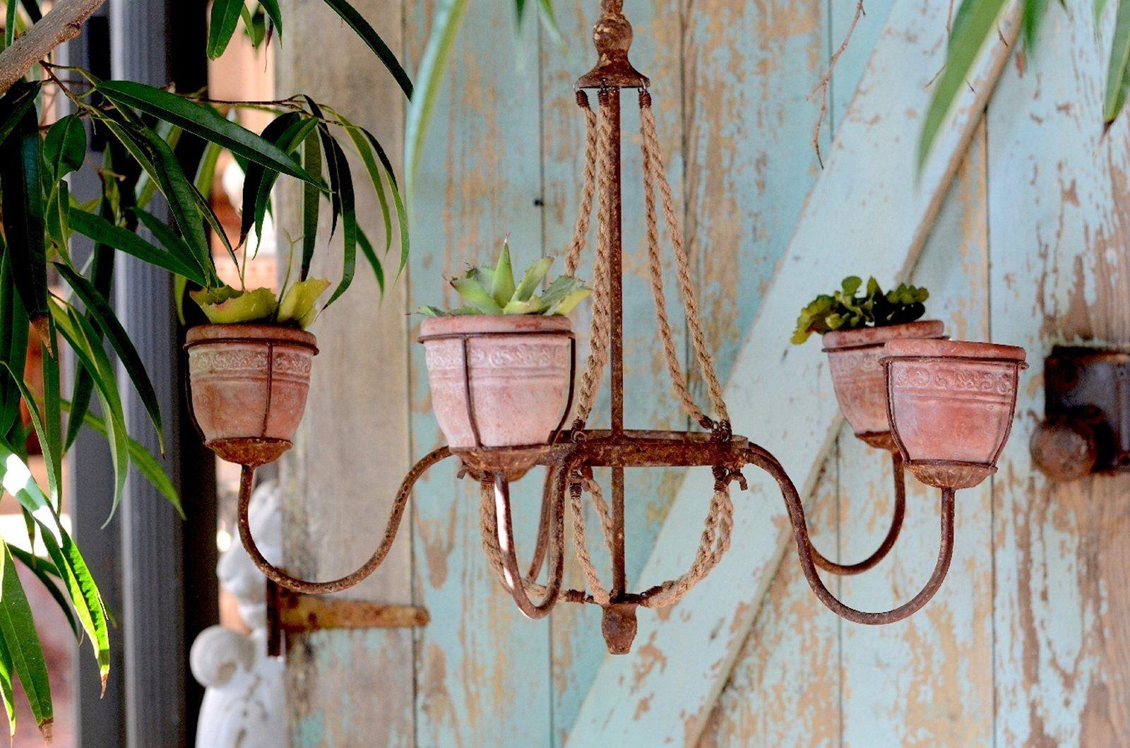 5 planter chandelier succulent wall art wall planter