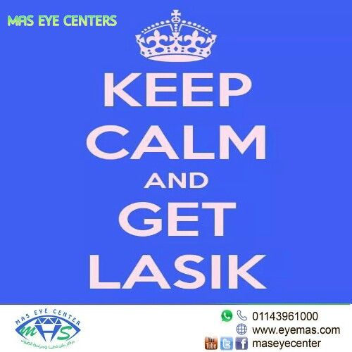 Keep Calm and get #lasik