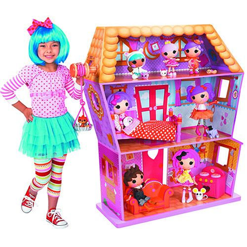 Walmart Toys For Girls Birthdays : Get the lalaloopsy dollhouse for less at walmart save