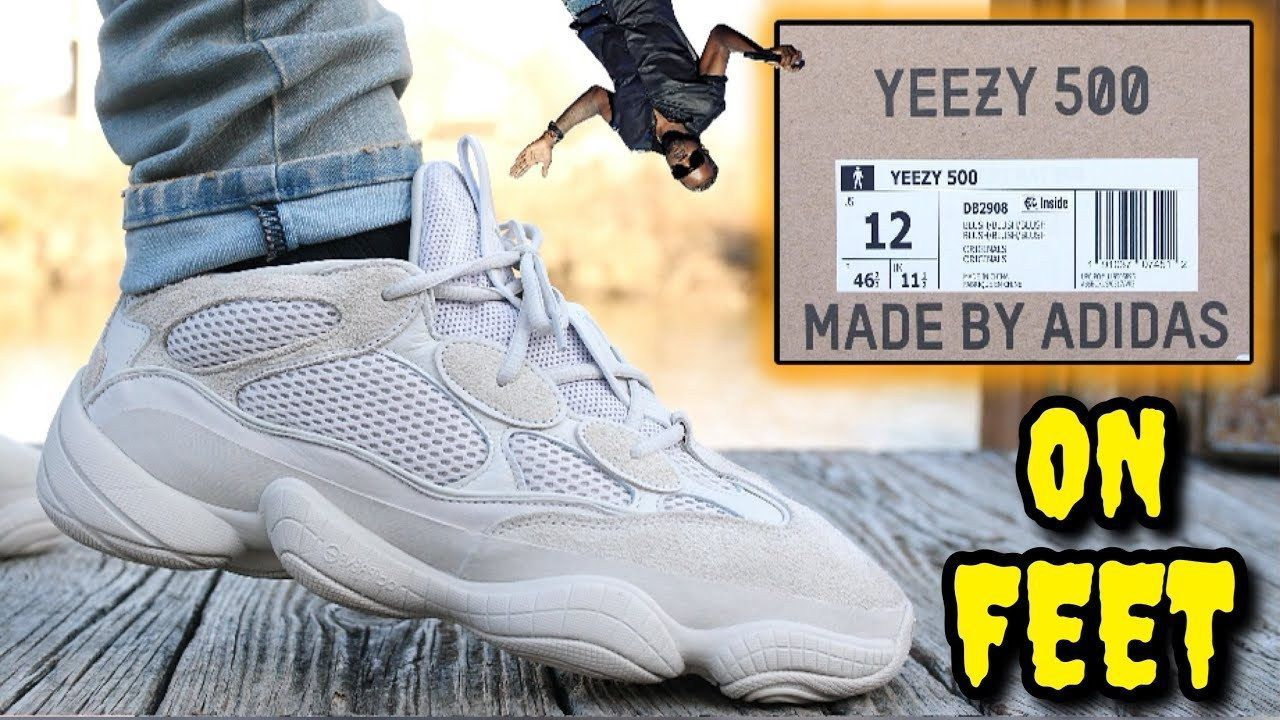 999ca2977fa ADIDAS YEEZY 500 DESERT RAT   BLUSH ON FEET REVIEW! Watch BEFORE You Buy! -  www.fashionhowtip.