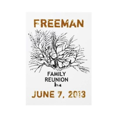 Nice Simple Family Reunion Invite Familyreunion Template
