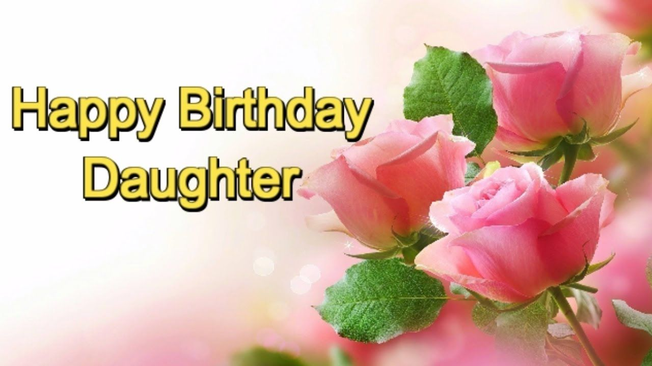 Birthday Wishes For Daughter Happy Birthday Cards Pinterest