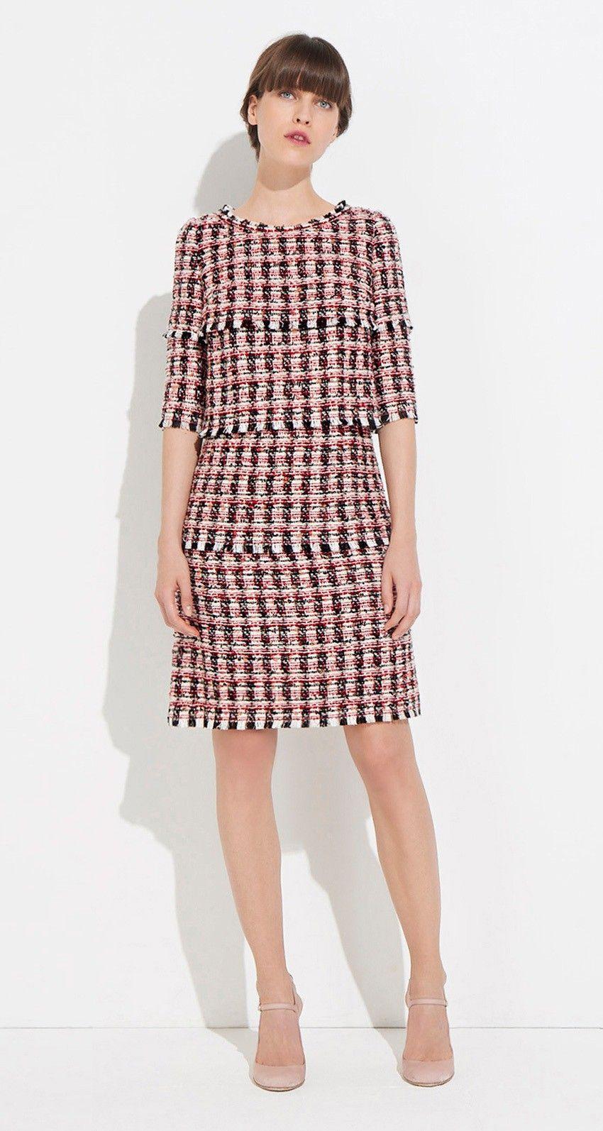 8ed804e1e80 Tweed dress - Paule KA