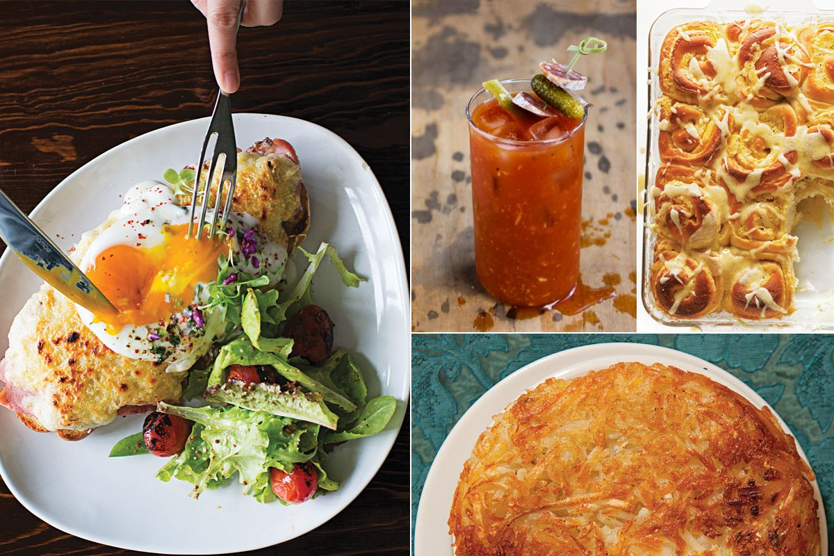 Menu A New Year's Day Brunch Saveur recipes, Brunch