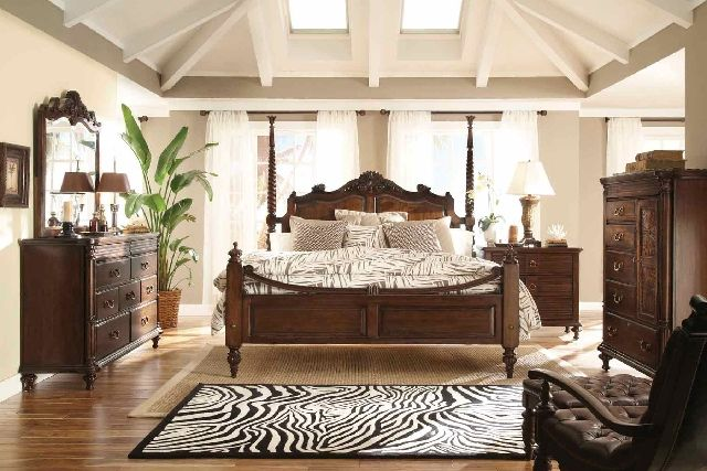 Just Beachy British Colonial British Colonial Bedroom