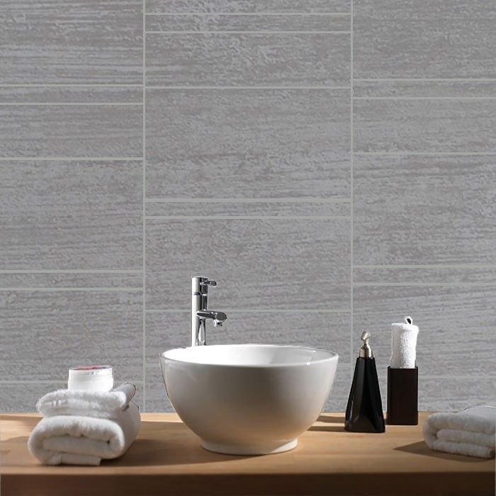 Decorative Wall Tiles Bathroom Pvc Wall Tiles  Dumapan Stone Tile Grigio Medie  Inspiration For