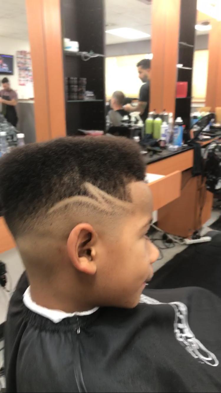 flat top fade with design   haircuts   flat top fade, hair